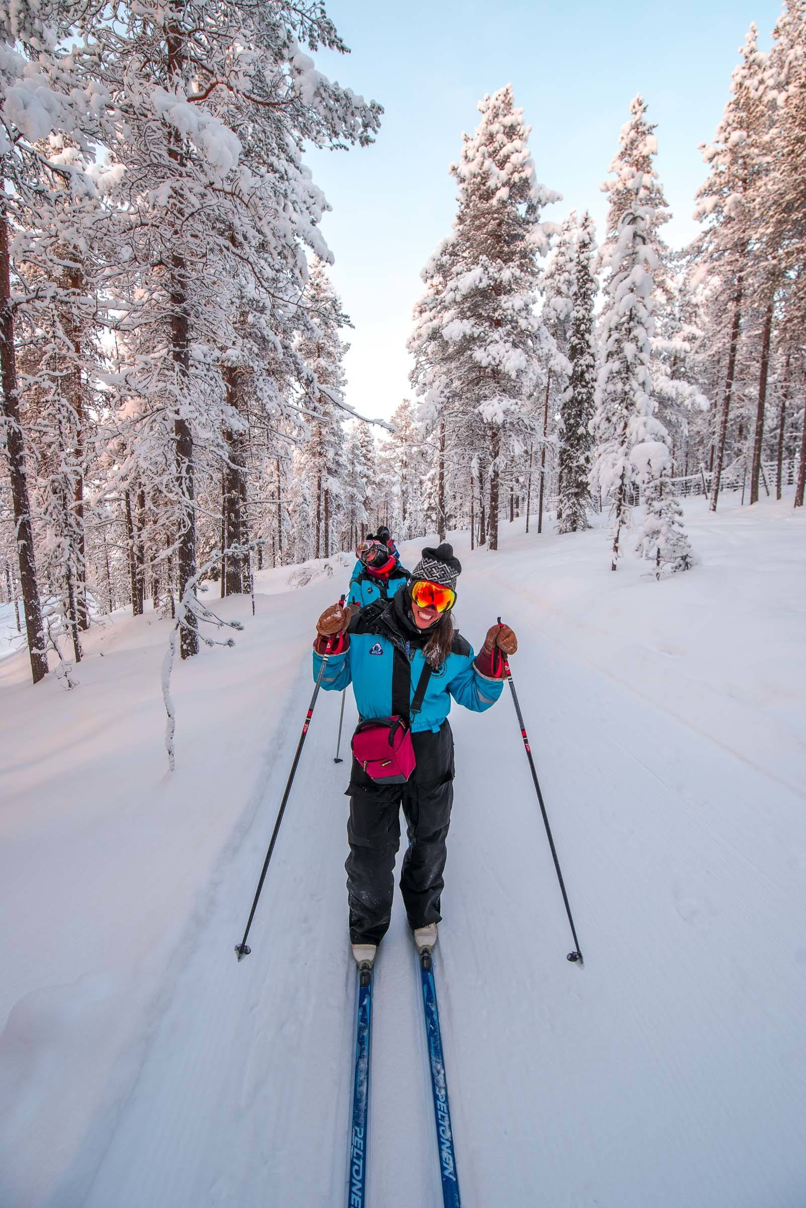 Cross Country Skiing Lapland Finland
