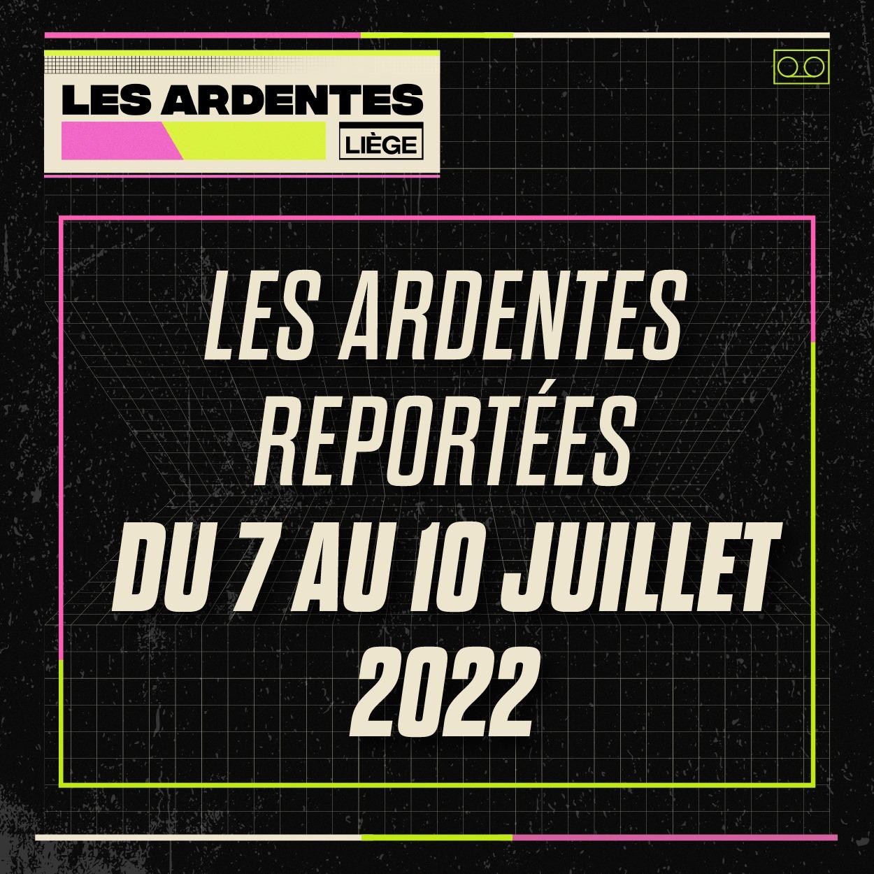 Les Ardentes Belgium July 2022