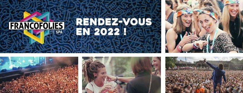 Les Francofolies de Spa Festival Belgium 2022