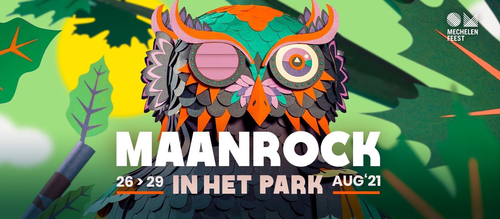 Maanrock Festival Belgium August 2021