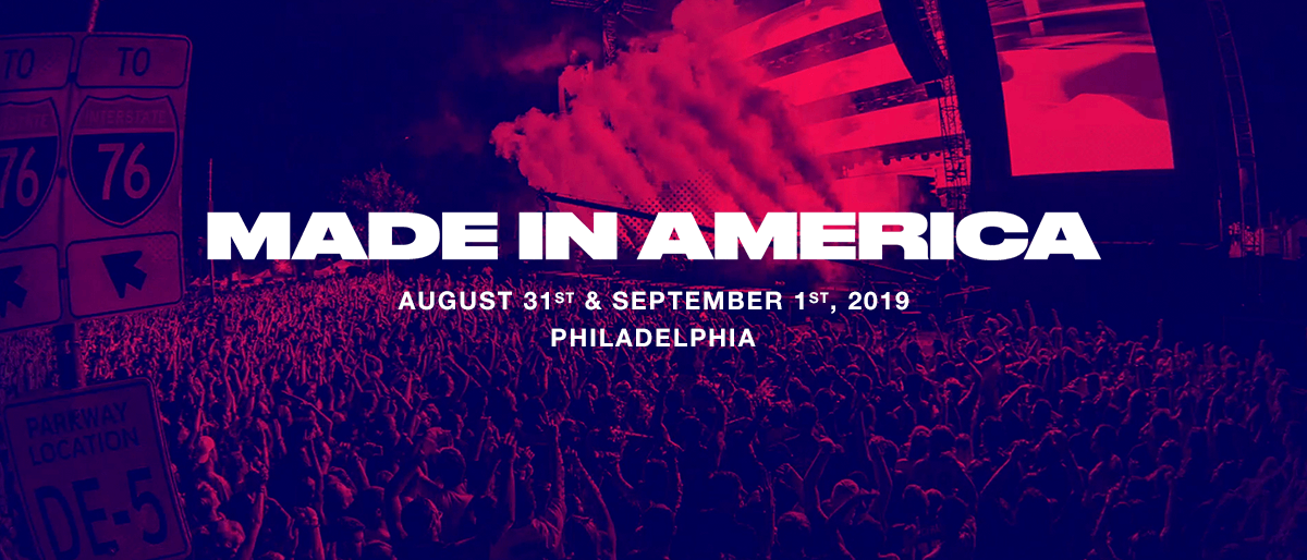 Made in America Festival PA 2019