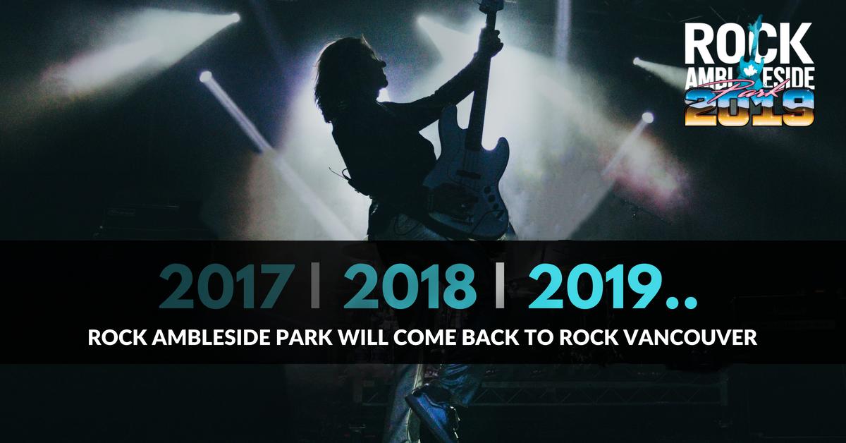Rock Festivals in Vancouver British Columbia