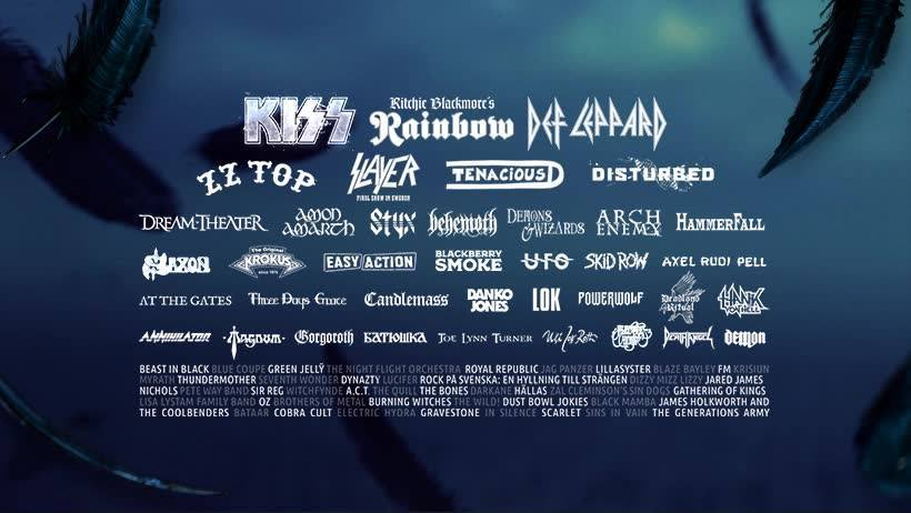 Best Rock Festivals in Sweden