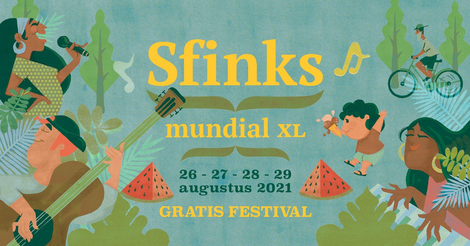 Sfinks Festival Belgium August 2021