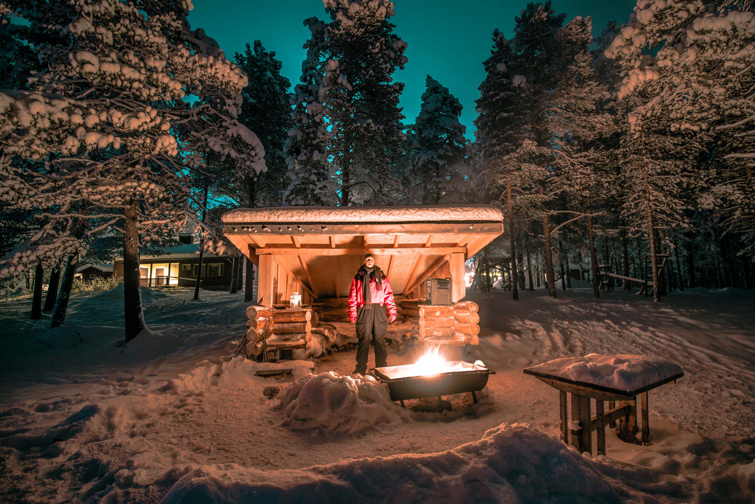 Aurora Campfire