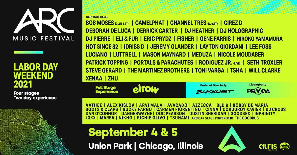 ARC Music Festival Chicago 2021