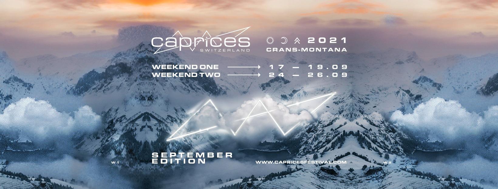Caprices Techno Festival Switzerland 2021