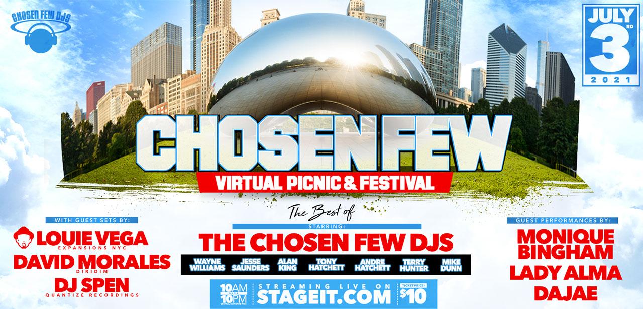 Chosen Few DJs Festival Chicago