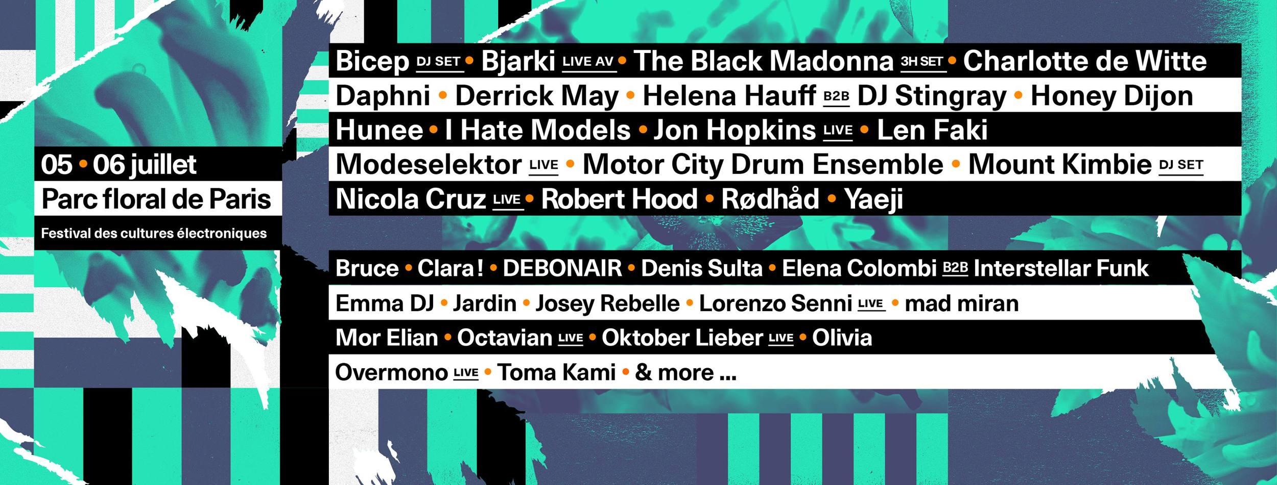 Europe Techno Festivals 2019