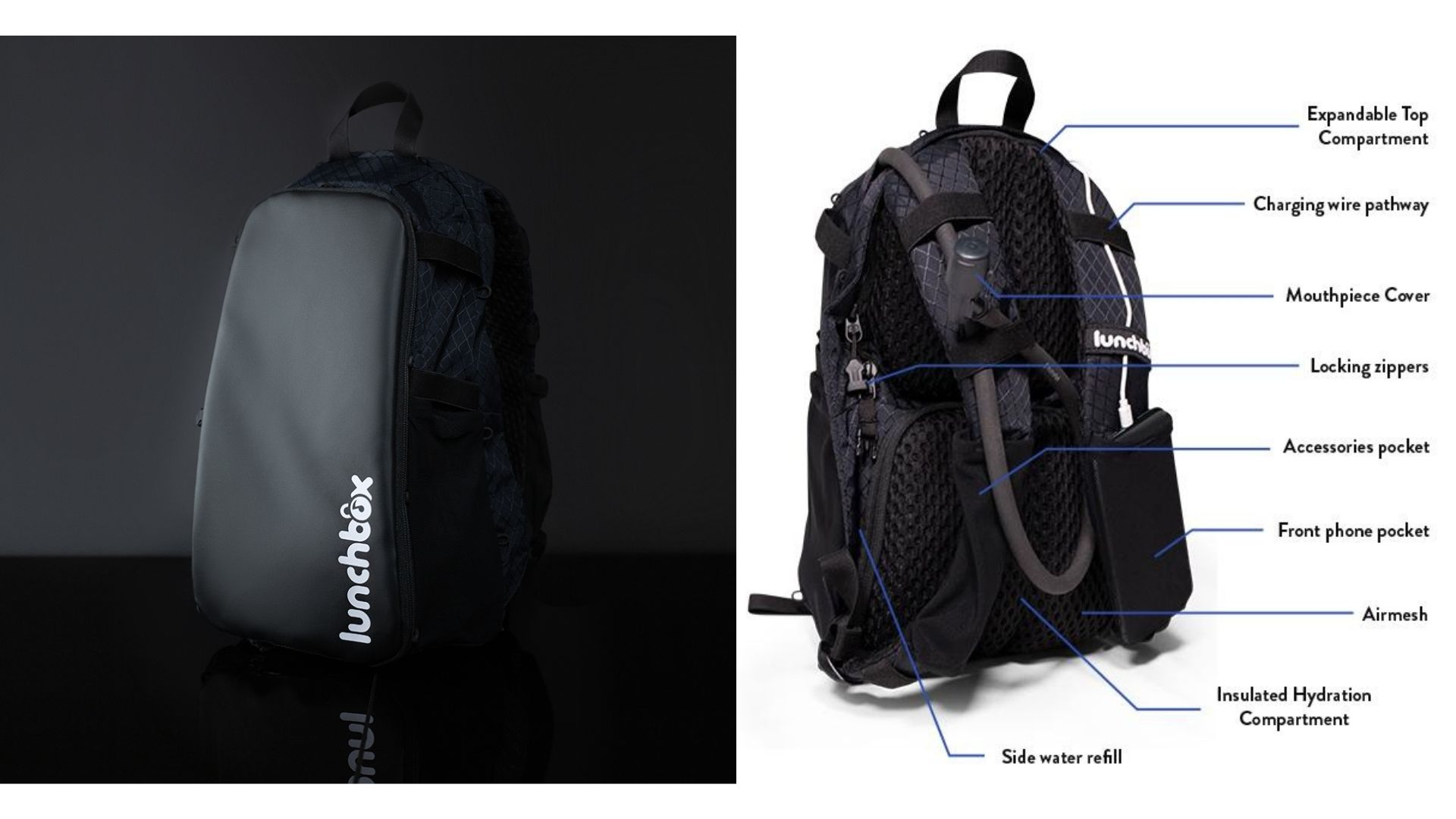 Lunchbox Festival Hydration Backpack 2.0