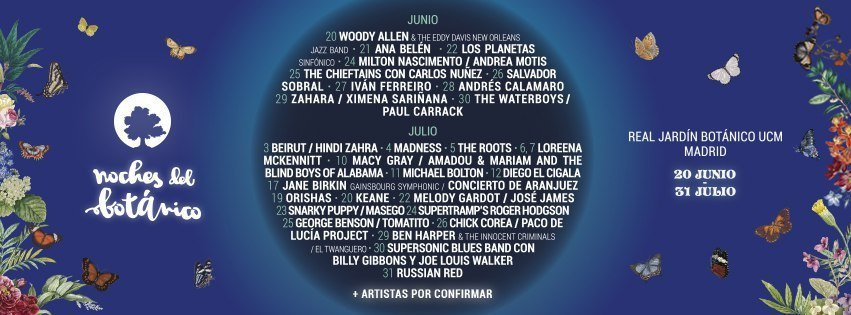 Concerts in Madrid 2019