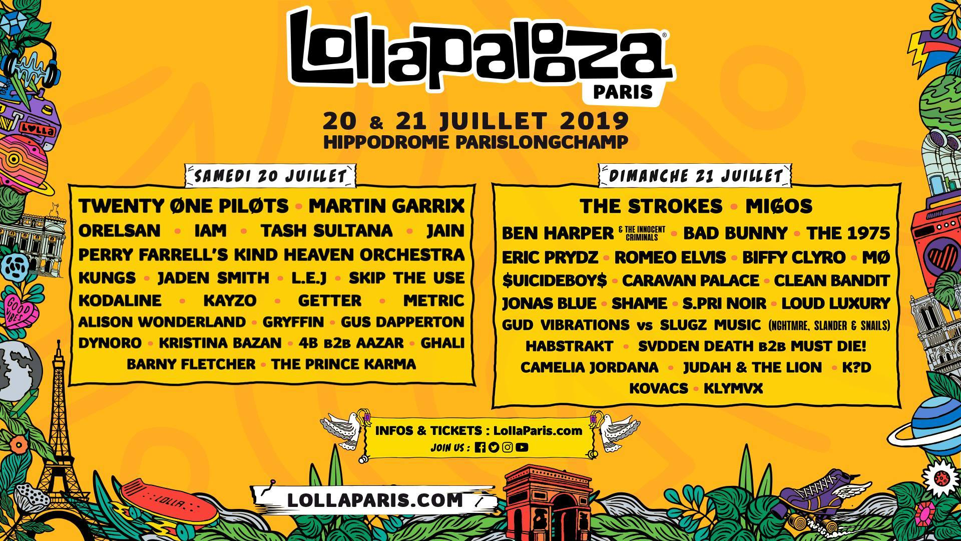 Paris Music Festivals 2019