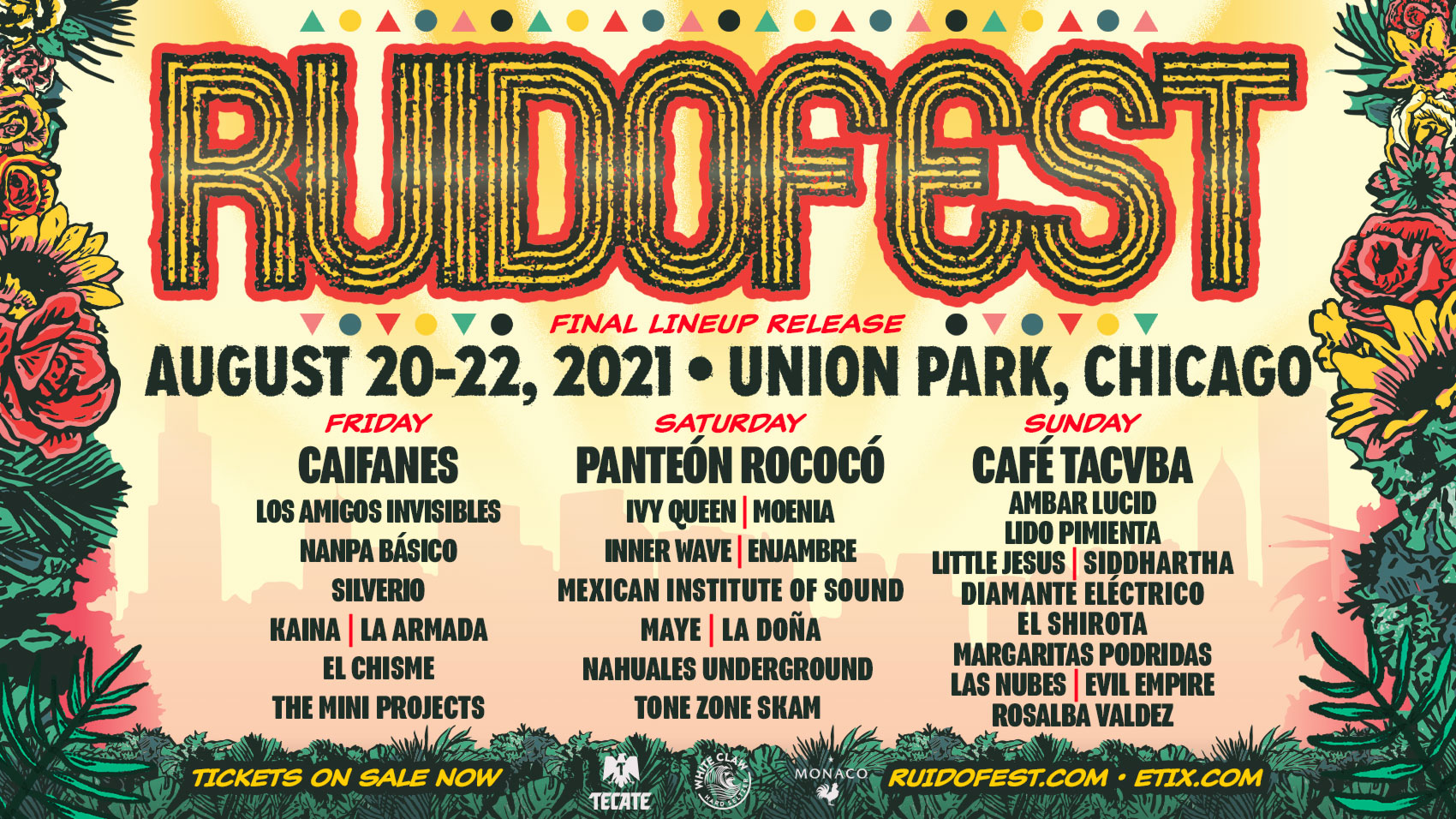 Ruido Fest Chicago Music Festival 2022