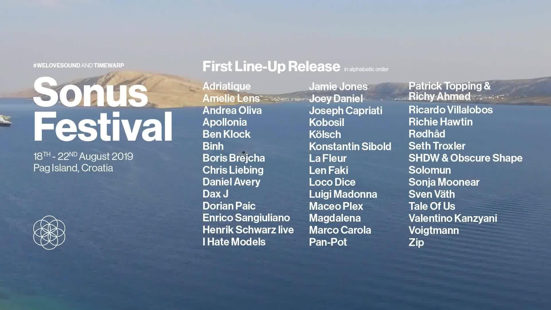 Techno Festivals Croatia, Sonus