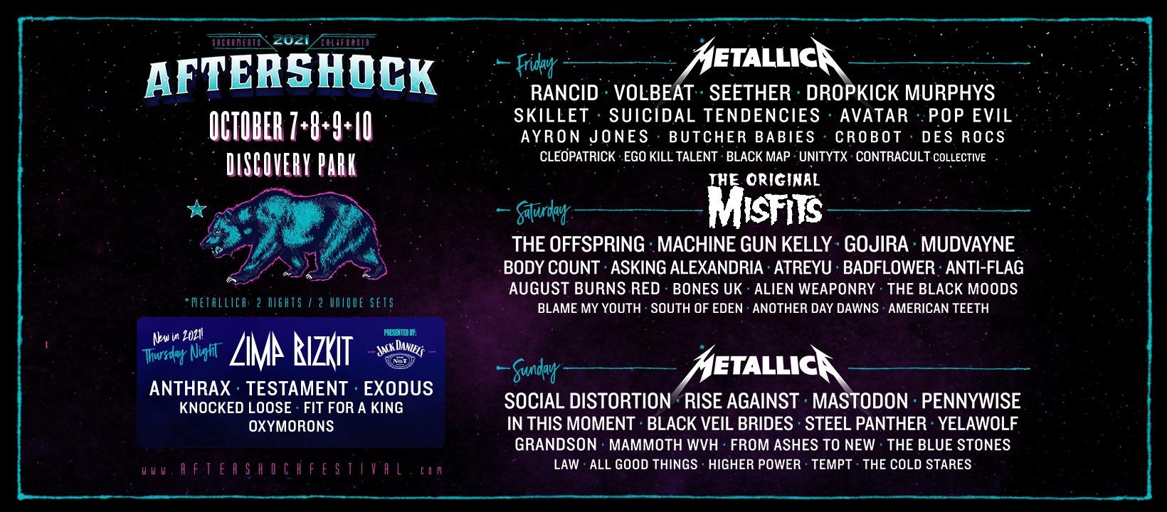 Aftershock Metal Festival 2021