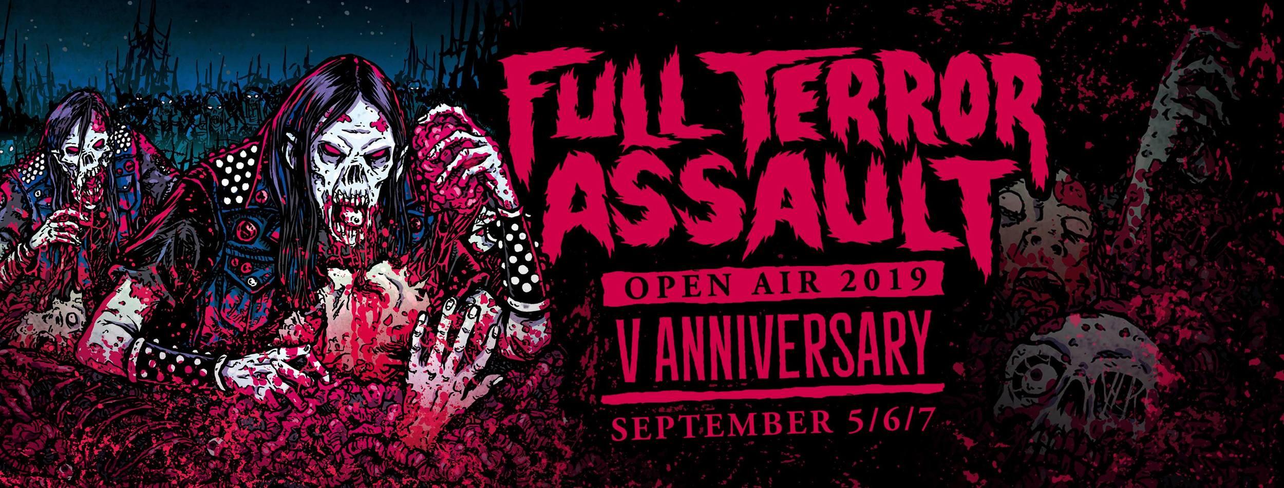 Full Terror Assault 2019 Metal Festival