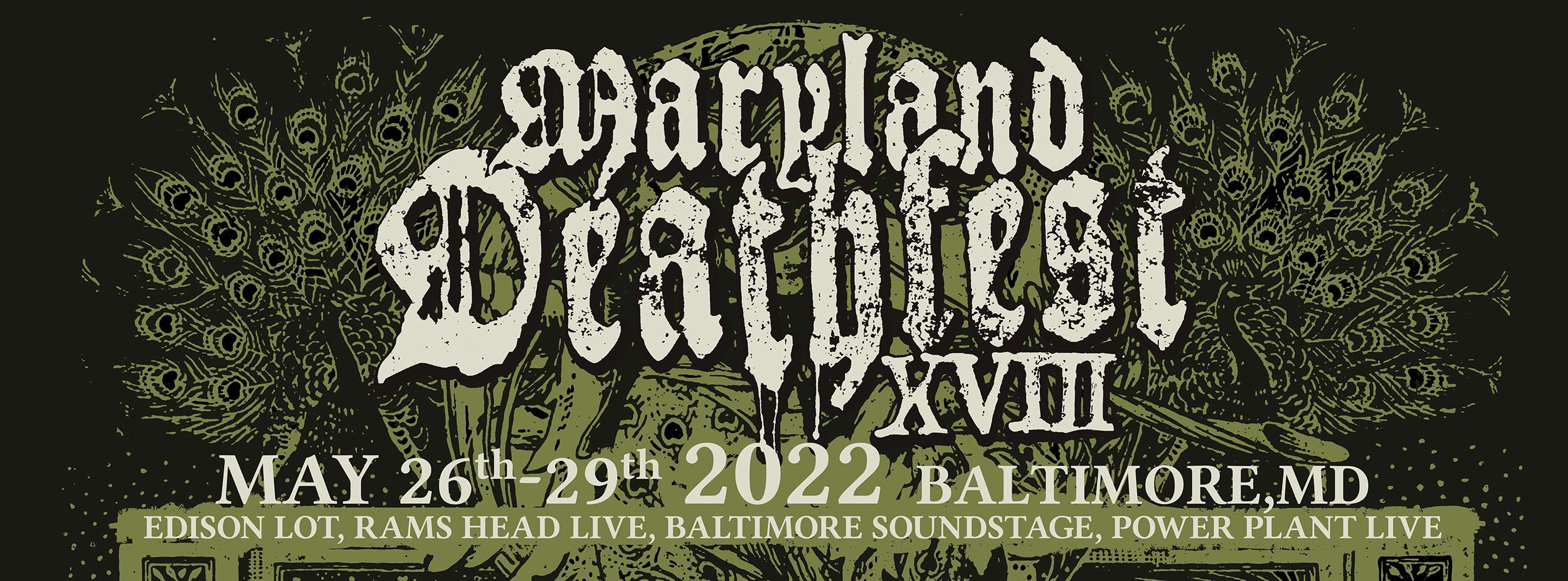 Maryland Deathfest Metal Festival 2022