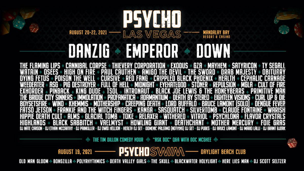 Psycho Las Vegas Heavy Metal Festival 2021