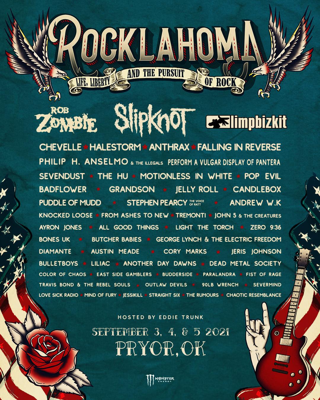 Rocklahoma Music Festival 2021