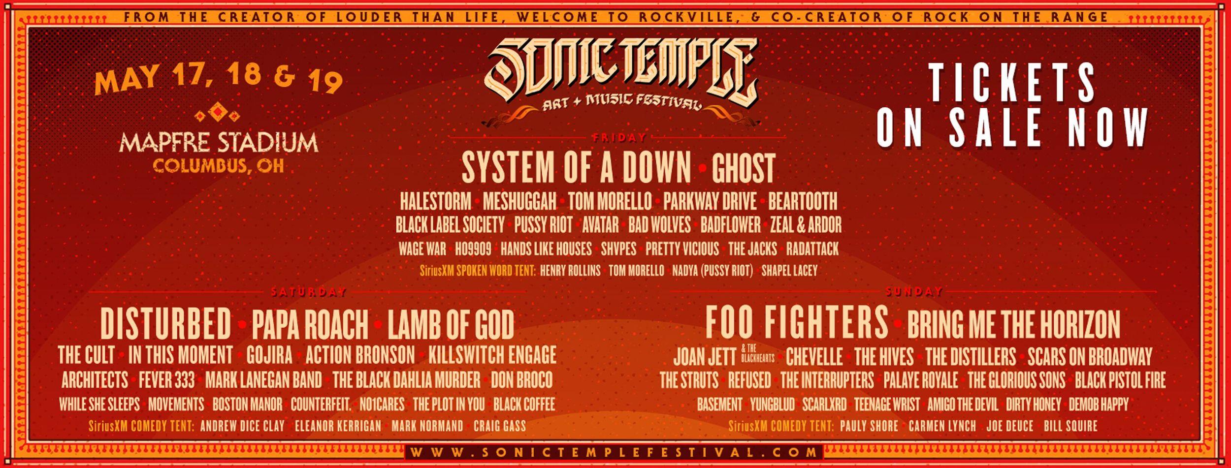 SOnic Temple Metal Festival 2019