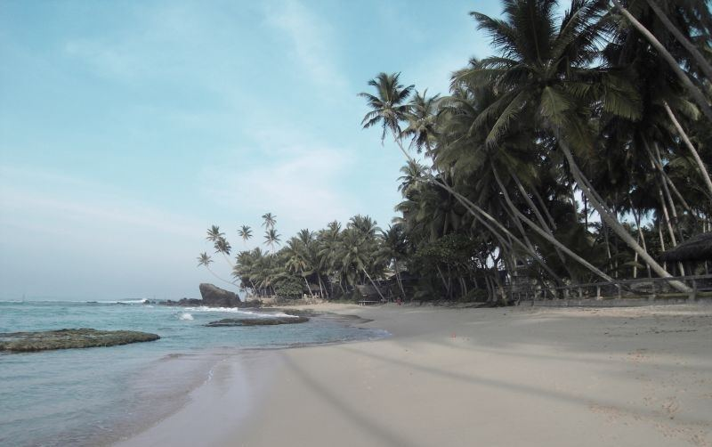 Beaches in Sri Lanka - Wijaya Beach