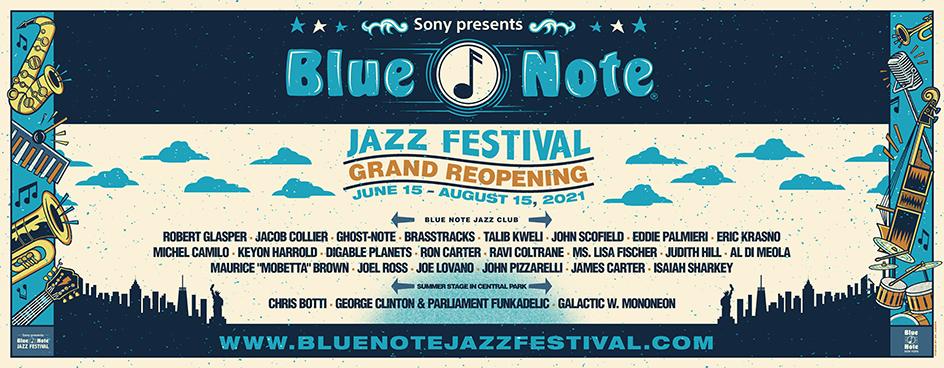 Blue Note Jazz Festival New York 2021