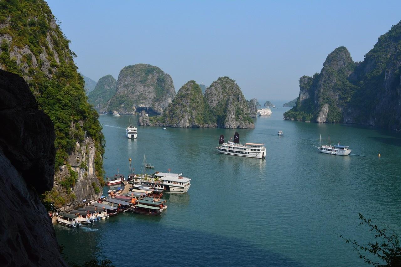 Ha Long Bay Beaches, Vietnam