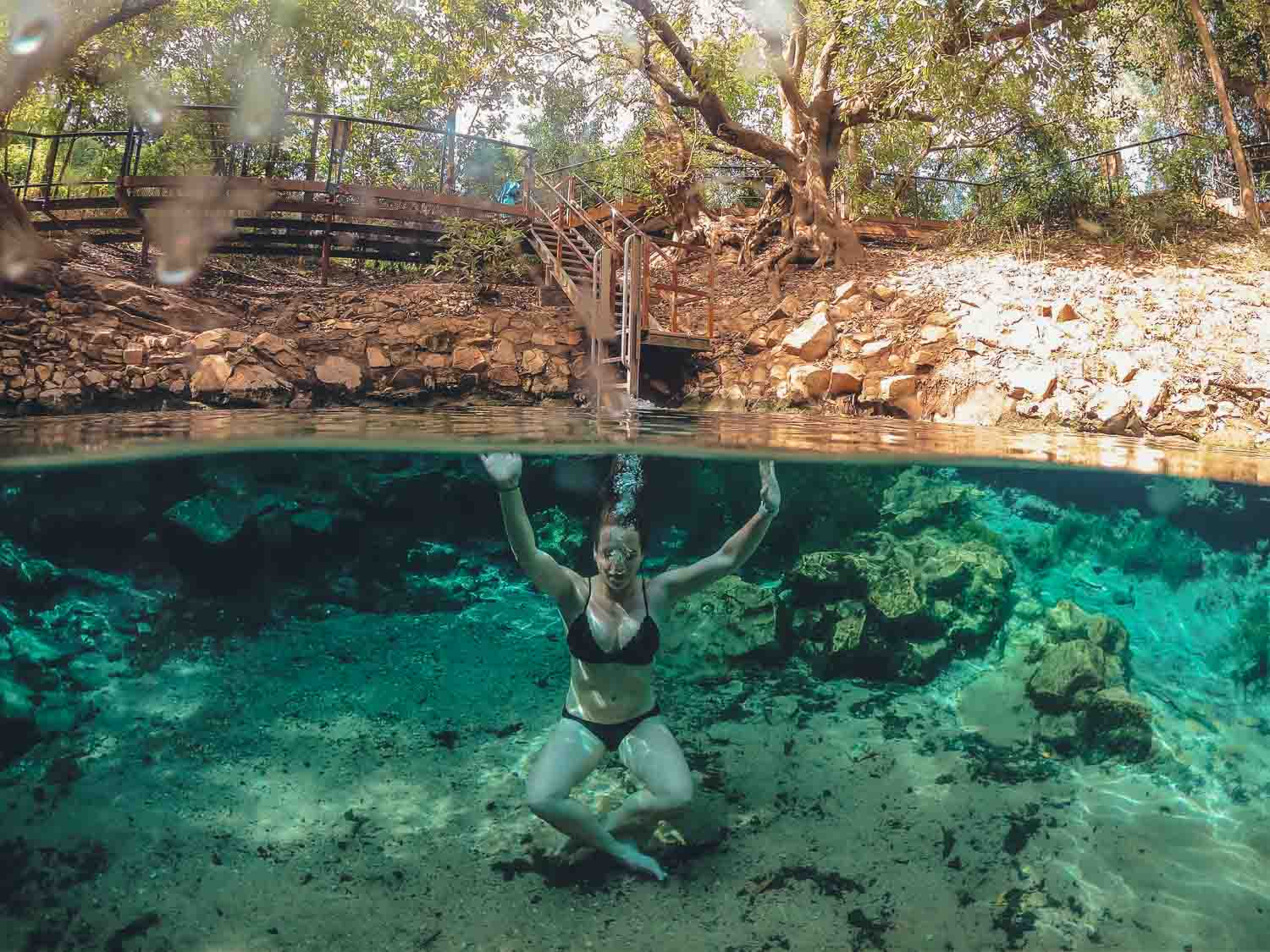 Katherine Hot Springs Northern Territory Itinerary
