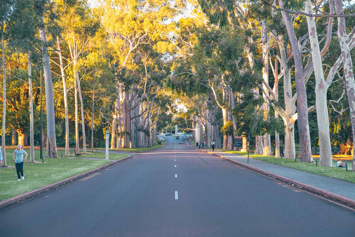 Perth Itinerary - Hiking Trails