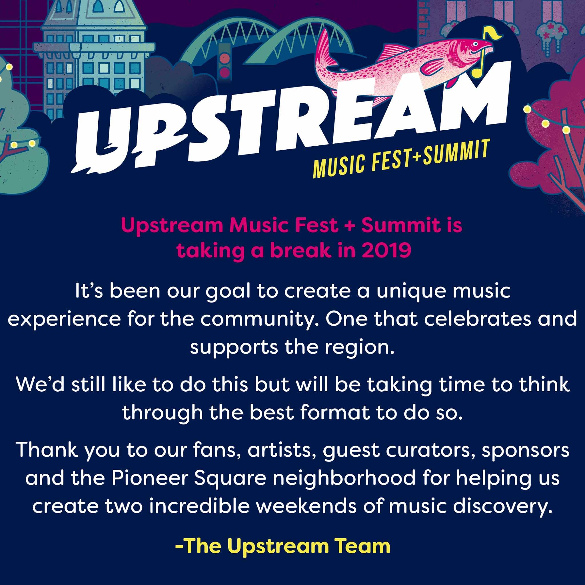 Upstream Music Festival Sumit - Best Washington Festivals 2020