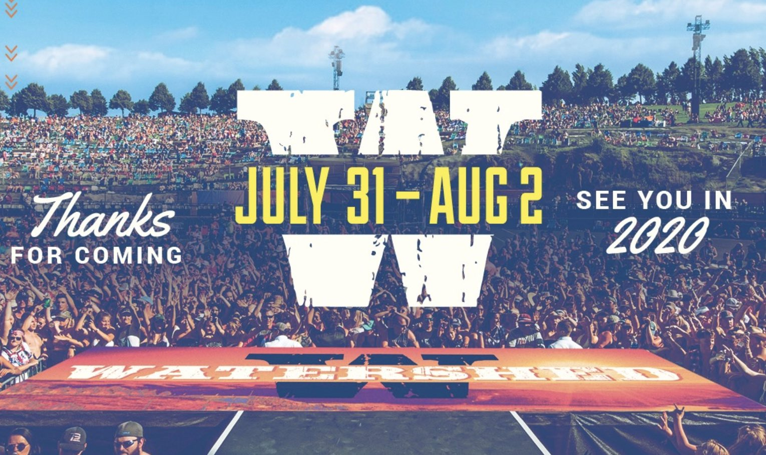 Watershed Country Music Festival - Best Washington Festivals 2020