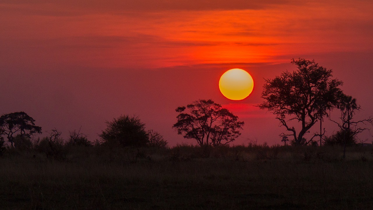 Botswana Sunset - Safe Countries in Africa
