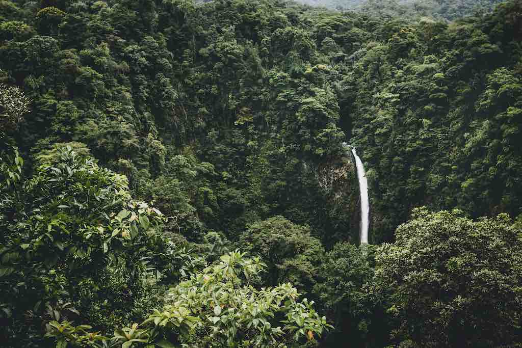 COsta Rica Waterfalls - Safe Countries in Central AMerica