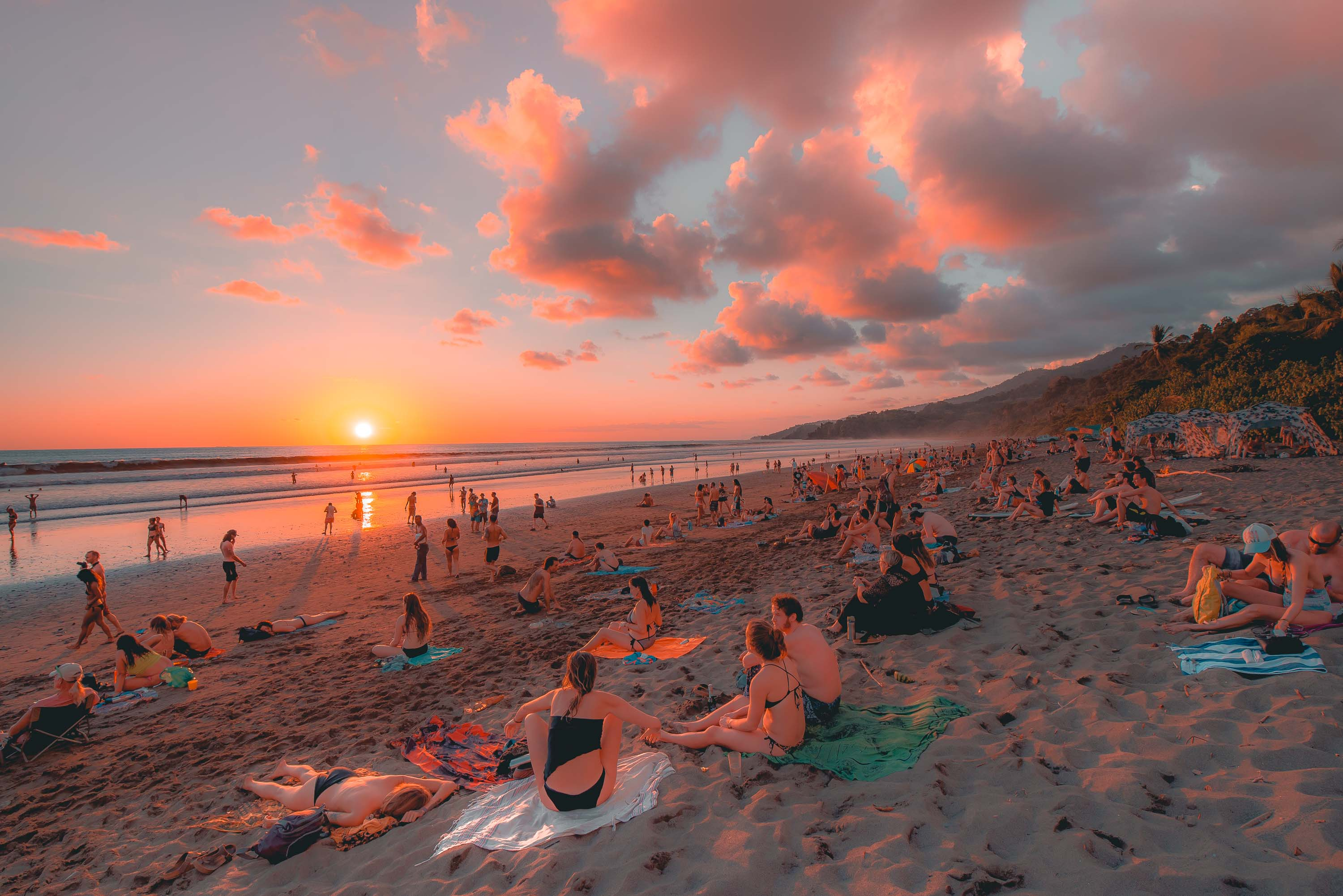 Costa Rica Sunset - Safest Countries to Visit in Central America