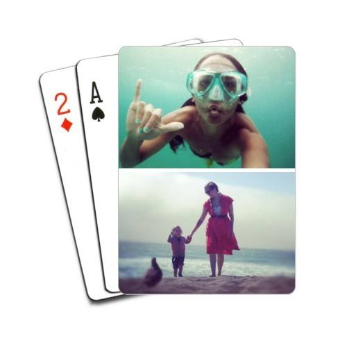 Custom Playing Cards - Mens Travel Gifts