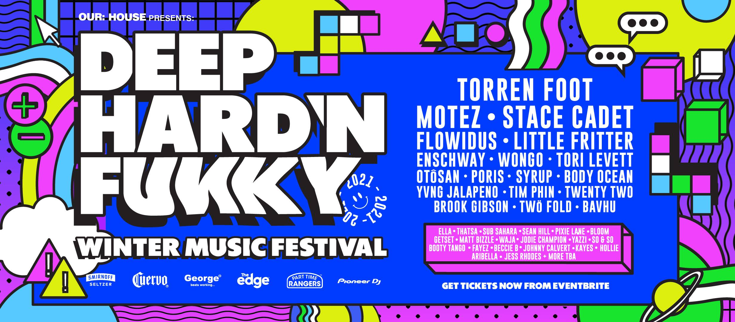 Deep Hard N Funky Winter Music New Zealand Festival 2021Deep Hard N Funky Winter Music New Zealand Festival 2021