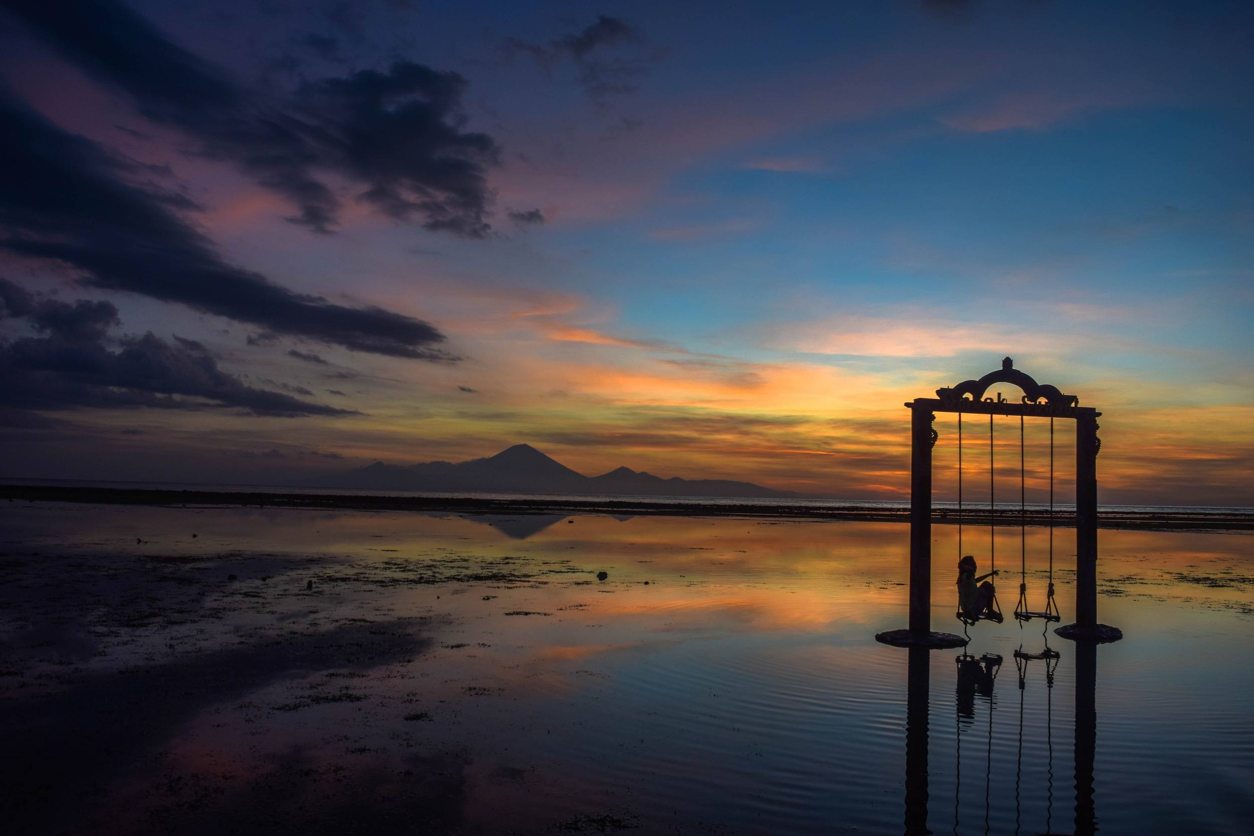 Gili Islands Sunset - Planning a Trip to Bali