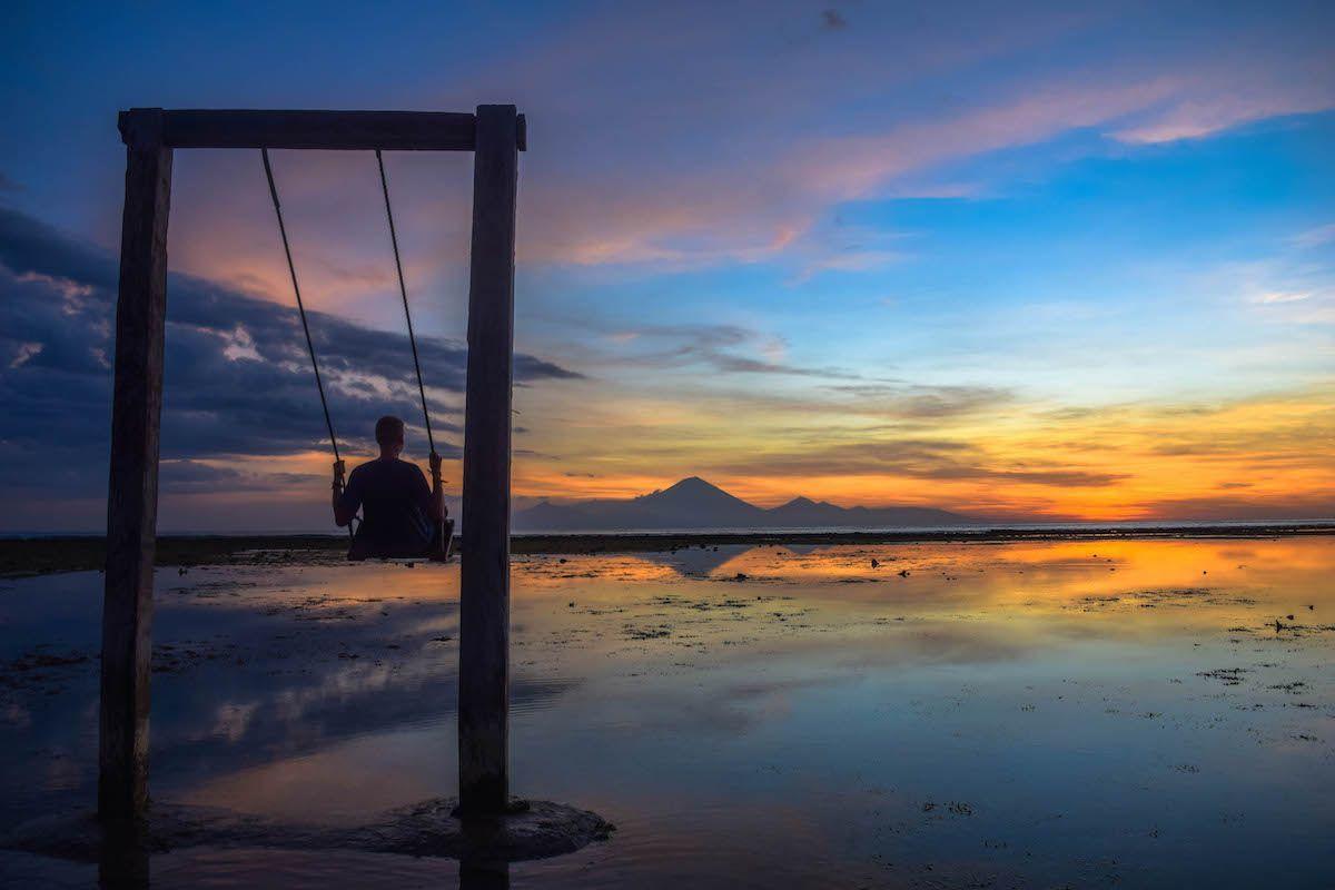 Gili Trawangan Sunset - Bali Itinerary