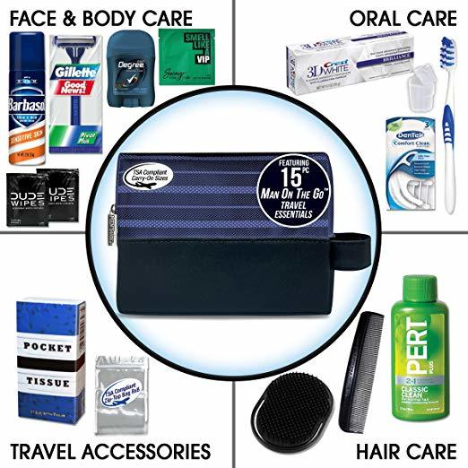 Mens Travel Kit - Gift Ideas 2019