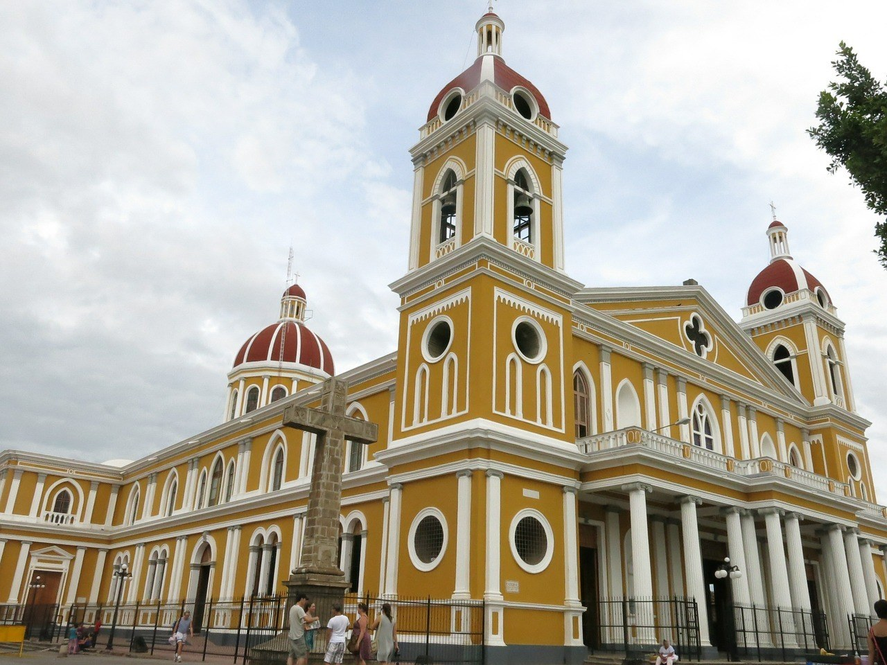 Nicaragua Cathedral - Safest Countries in Central America