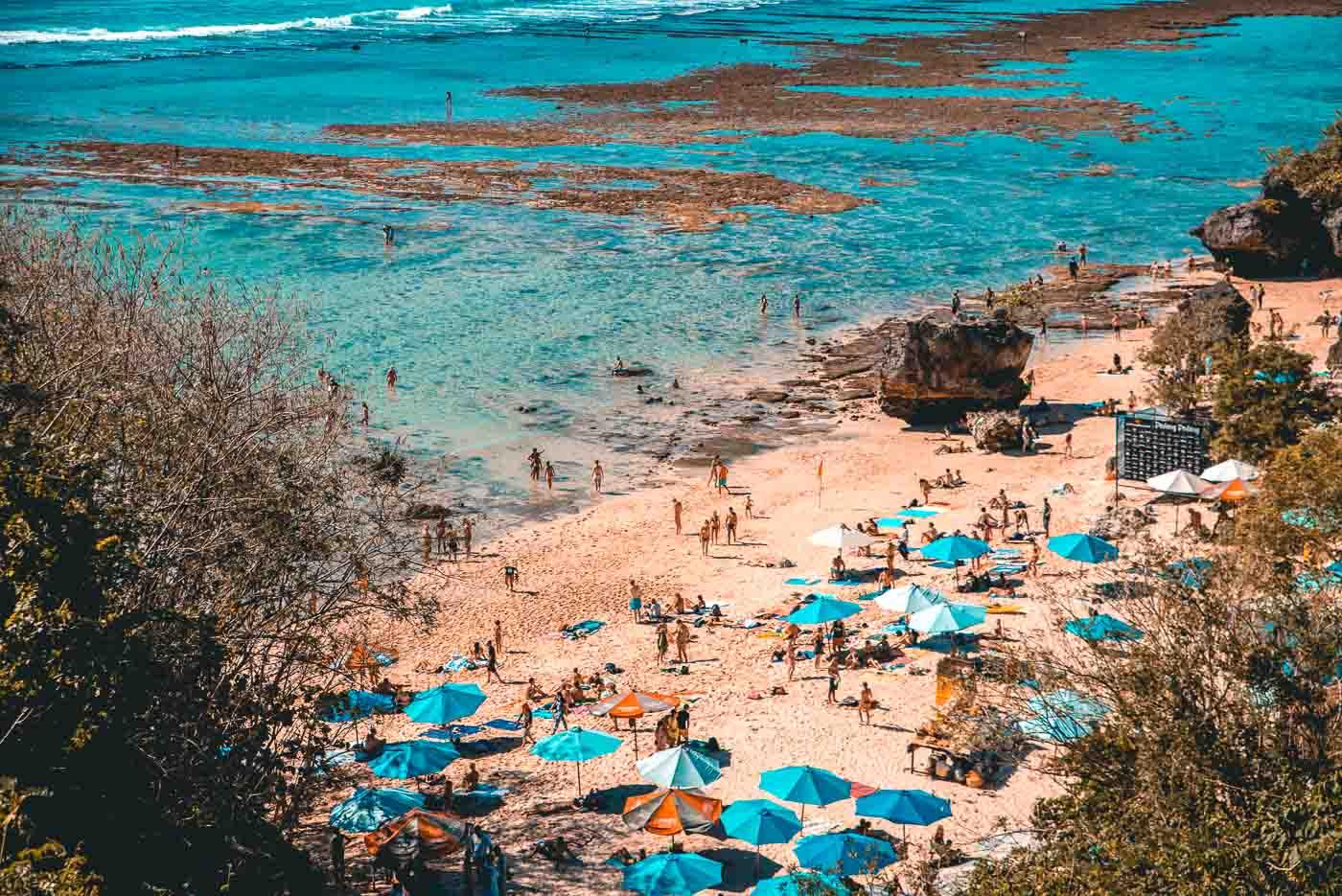 Padang Padang Beach - Bali Itinerary