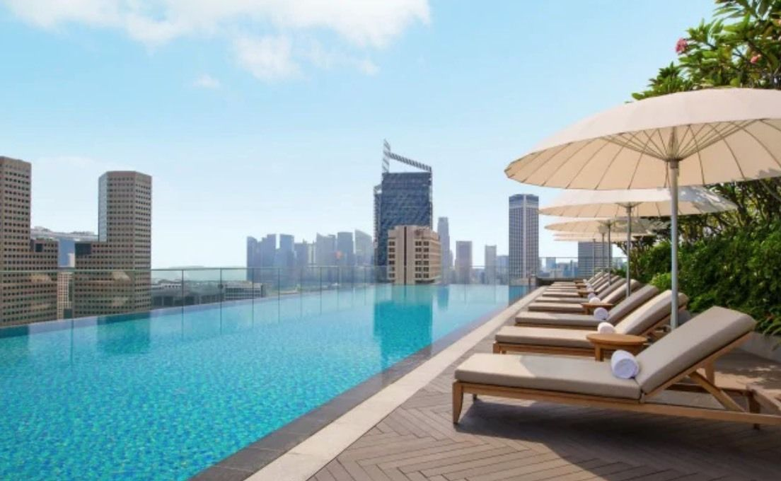 Andaz Singapore Rooftop Pool