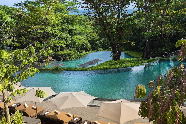 Capella Singapore Infinity Pool