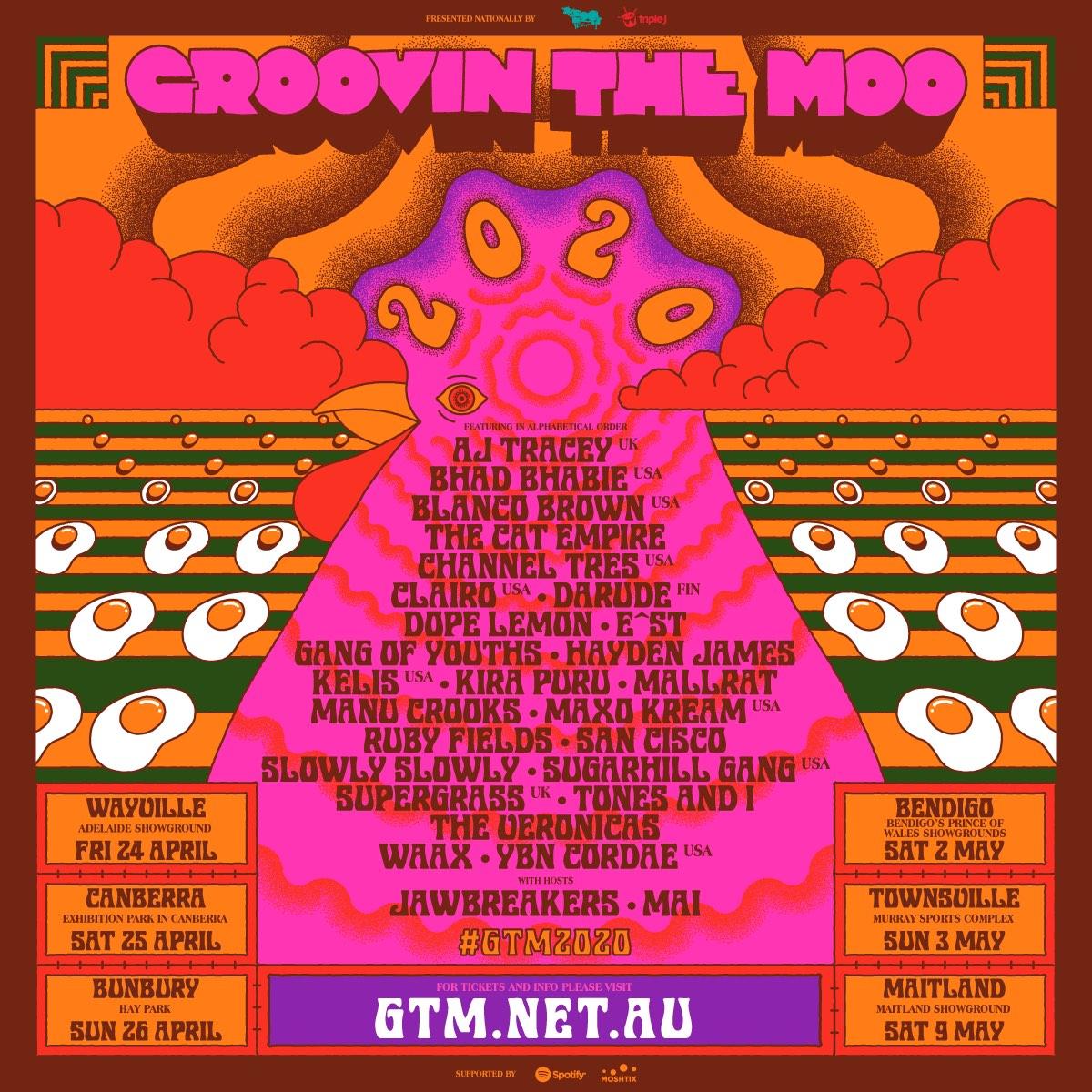 Groovin The Moo Festival Australia