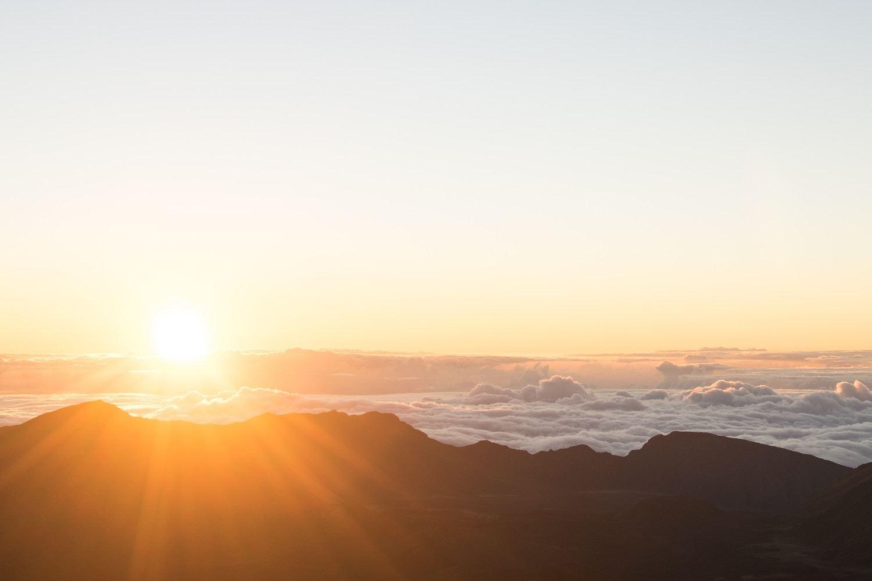 Haleakala National Park - Maui Sunrise