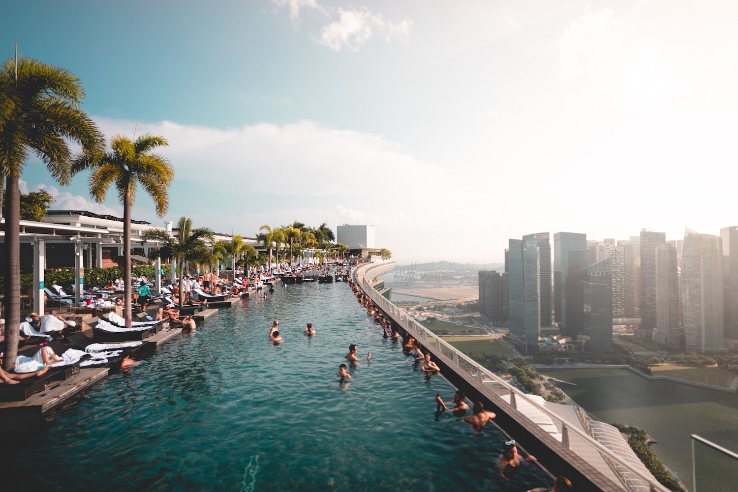 Infinity Pools in Singapore