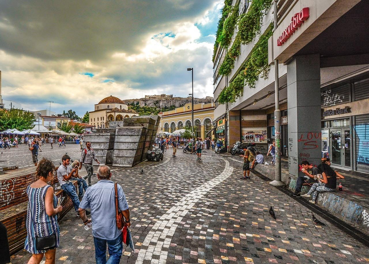 Monastiraki Flea Market - Places to visit in Athens