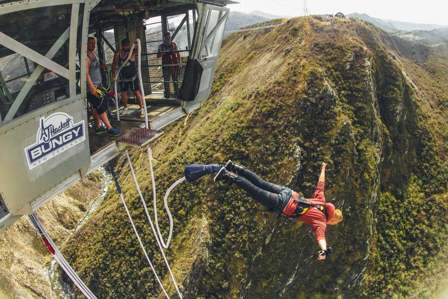 Nevis Bungy Jump - Queenstown Things to Do