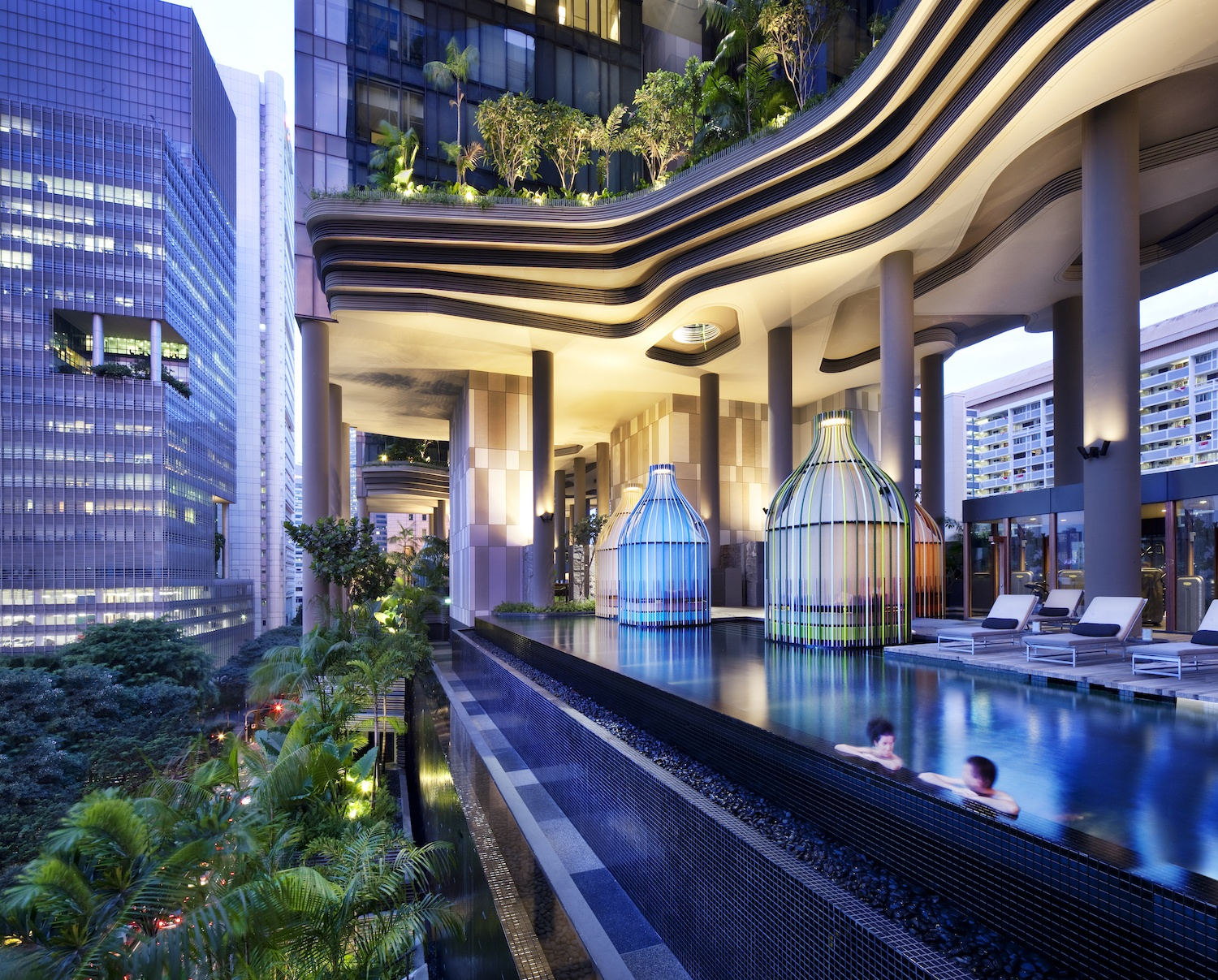 PARKROYAL on Pickering - Best Singapore Rooftop Pools