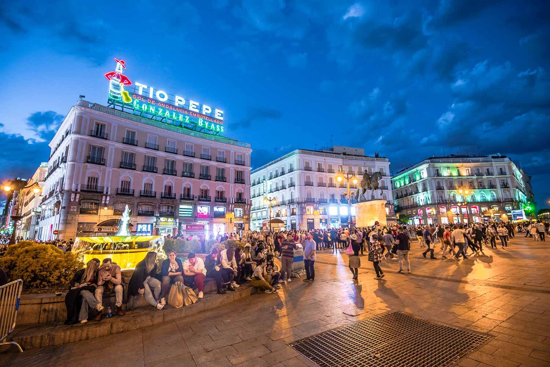 Puerta Del Sol - 2 Days in Madrid Travel Tips